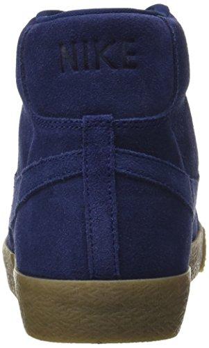 Blazer Premium Blue Brown Homme Nike Basses gum Blue Lt Bleu Mid binary Baskets binary pc44WdnZ