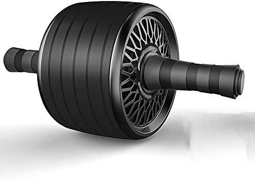 腹部運動用ローラーホイール、腹部ホイール、デュアルAbホイール、スポーツエクササイズフィットネスローラーホイール-家庭用ワークアウト機器として男性と女性の両方に使用されるAbエクササイズ機器