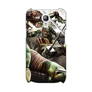 JohnPrimeauMaurice Samsung Galaxy S3 Mini Durable Hard Phone Covers Custom Beautiful Teenage Mutant Ninja Turtles Out Of The Shadows Game Skin [YUI13573JowG]