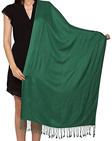 110a36474 Image Unavailable. Image not available for. Color: Unisex Plain Pashmina  Scarf Shawl Stole Wrap 100% ...