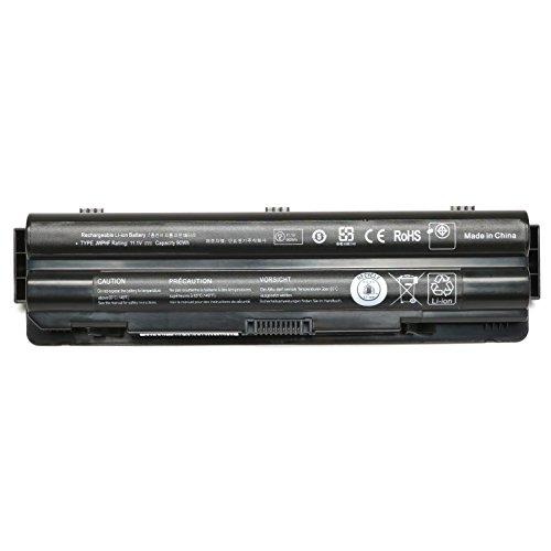 9Cell New Laptop Battery for Dell XPS 17 (L701X) 17(L702X) 15 (L501X) 15 (L502x) 14 (L401X);453-10186 312-1123 312-1127 JWPHF R795X