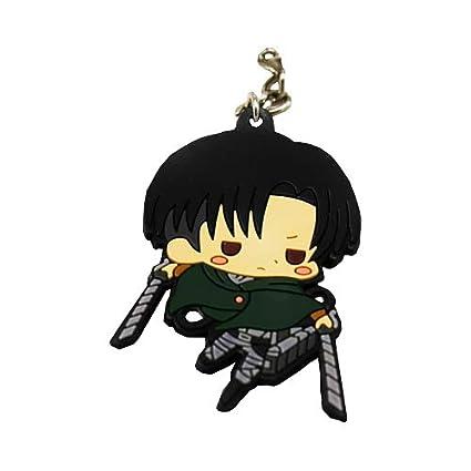 Attack on Titan Anime Levi Llavero de Doble Cara: Amazon.es ...