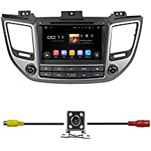 """BlueLotus® 8"""" Android 5.1 Quad Core Car DVD GPS Navigation for Hyundai TUCSON 2016 w/ Radio+RDS+Bluetooth+WIFI+SWC+AUX In +Free Backup Camera + US Map"""