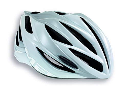 MET Forte Bike Helmet, White, Large