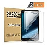 2 X Samsung Galaxy Tab A 7.0 Screen Protector,DETUOSI [9H Tempered Glass Technology]