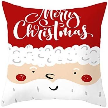 Xinantime Christmas Series Decoración para el Hogar, Funda ...