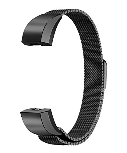 Fitbit Alta Band, TENKER Adjustable Replacement Accessories Bands Metal Wristband Band Strap for Fitbit Alta HR, Fitbit Alta