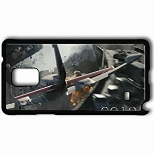 Personalized Samsung Note 4 Cell phone Case/Cover Skin 2012 Black