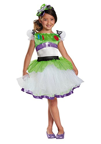 Disguise Disney Pixar Toy Story and Beyond Buzz Lightyear Tutu Prestige Girls Costume,