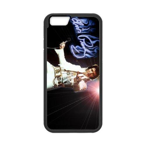 Elvis Presley 001 coque iPhone 6 4.7 Inch Housse téléphone Noir de couverture de cas coque EOKXLLNCD16866