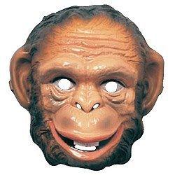 Rubie's 3282 Animal Mask-Monkey Costume, One Size, Multicolor