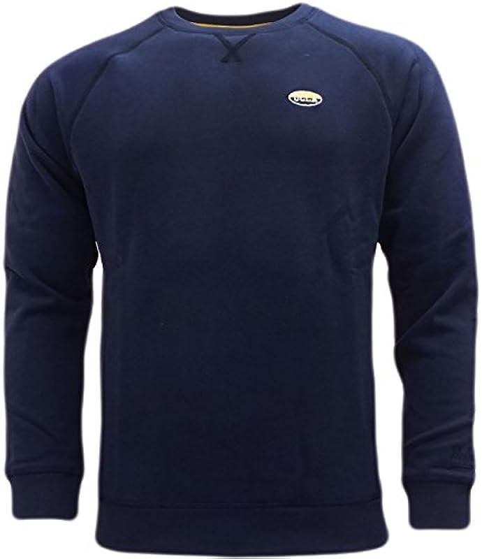 UCLA męski sweter sweter, jednokolorowy niebieski niebieski - l: Odzież