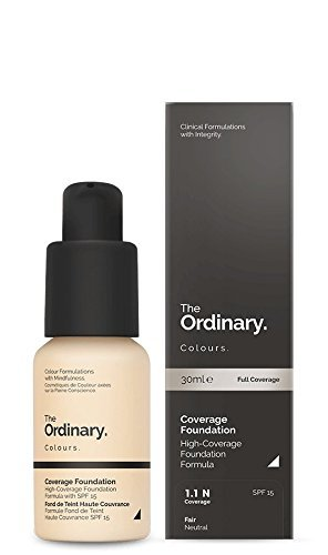 Buy The Ordinary Coverage Foundation Spf15 30ml 1 1 N Fair Neutral Online At Low Prices In India Amazon In