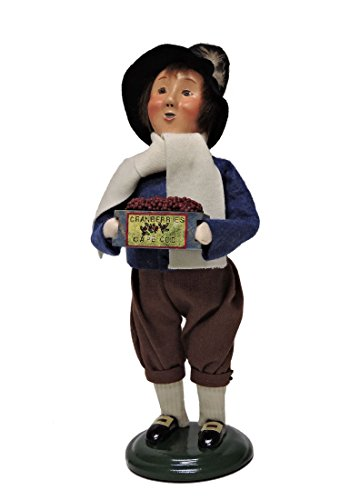 Byers' Choice Pilgrim Boy Caroler Figurine #5014B from