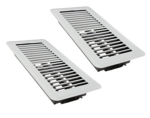 white floor vents - 2