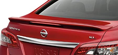 Nissan Sentra Sedan Spoiler Painted in The Factory Paint Code of Your Choice #531 KAD Spoiler and Wing King ®
