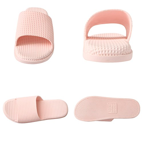 Sandals Toe Shower Bathroom Open Pink Shoes Slides for Shower Men Slipper Home Slippers Women Bath Indoor p7qURHpw