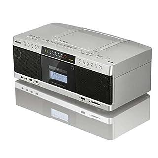 東芝 ハイレゾ対応SD/USB/CDラジカセ(サテンゴールド)TOSHIBA Aurex TY-AK1