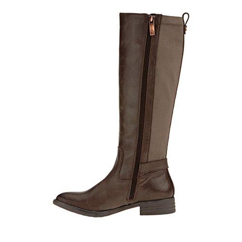 Bussola Kvinna Trapani Gore Tall Ebenholts (brun) Läder Ebenholts (brun) Läder