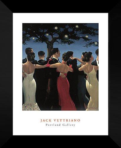 - Jack Vettriano Framed Art Print 20x24