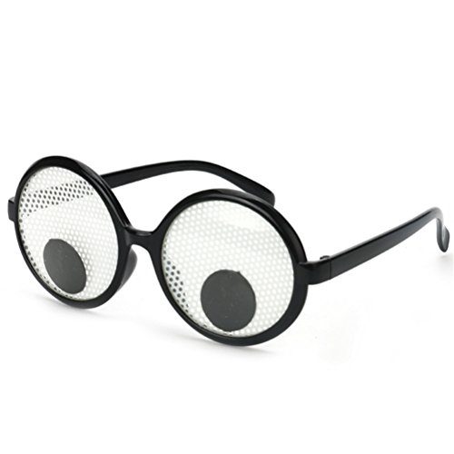 Googly Eyes Goggles Shaking Eyes Party Glasses Toys for Party Cosplay