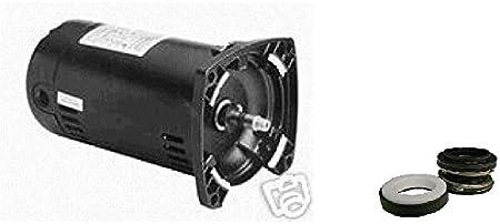 CENTURY Pump Motor,3//4 HP,3450,115//230 V,48Y,ODP USQ1072