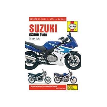 amazon com 04 08 suzuki gs500f haynes repair manual automotive rh amazon com suzuki gs 500 user manual suzuki gs 500 user manual