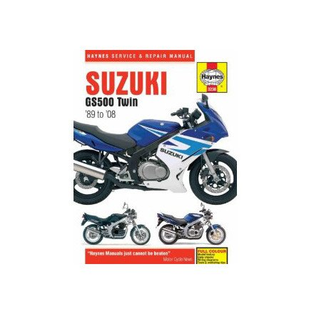 amazon com 04 08 suzuki gs500f haynes repair manual automotive rh amazon com suzuki gs 500 owners manual pdf suzuki gs500f repair manual pdf