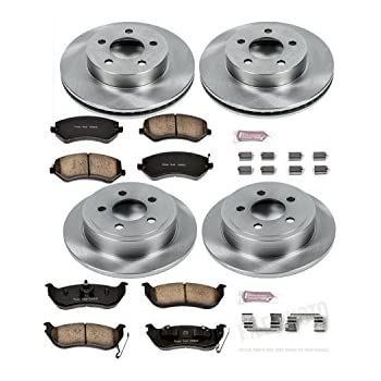 Autospecialty KOE1318 1-Click OE Replacement Brake Kit