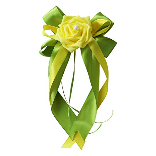 Wedding Bouquet Mint Tin - BROSCO Multicolor Ribbon Flower Bow