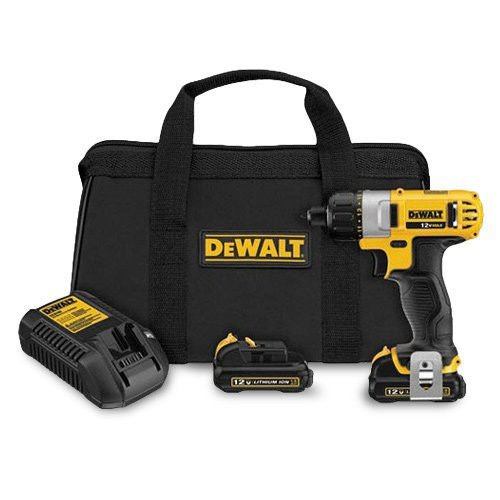 DEWALT DCF610S2R 12V MAX Cordless Lithium-Ion 1/4 in. Hex Chuck Screwdriver Kit (Certified Refurbished) primary