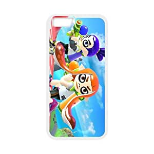 iPhone 6 Plus 5.5 Inch Cell Phone Case White Splatoon 008 TR2219177