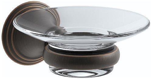 Two Toilets Devonshire Piece (KOHLER K-10560-2BZ Devonshire Soap Dish Holder, Oil Rubbed Bronze)