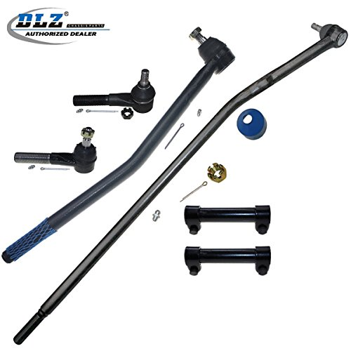 Ford E-150 Club Wagon (DLZ 6 Pcs Front Suspension Kit-2 Inner 2 Outer Tie Rod End 2 Tie Rod End Adjusting Sleeve for 2003-2005 Ford E-150 1992-2002 Ford E-150 Econoline 2003-2005 Ford E-150 Club Wagon)