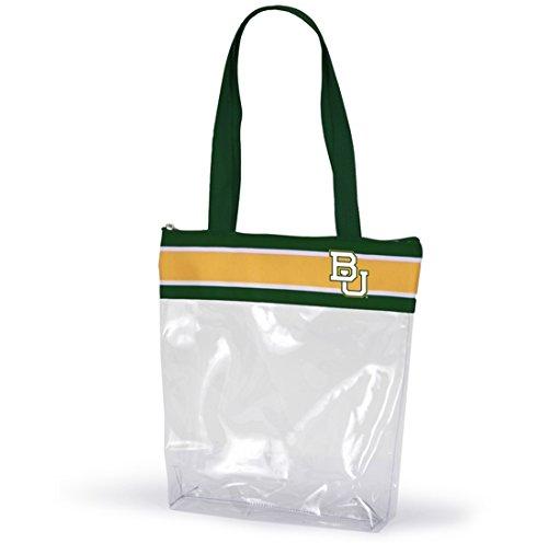 Desden Baylor Clear Gameday Stadium Tote Bag by Desden