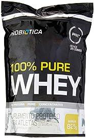 100% Pure Whey Refil (825G) - Sabor Baunilha, Probiótica