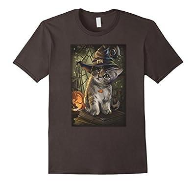 Happy Halloween Cat T Shirt - Funny Cat Shirt
