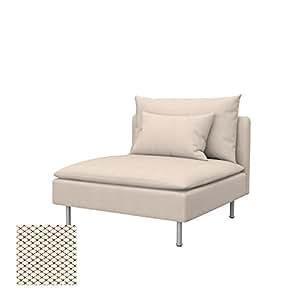 Soferia - IKEA SÖDERHAMN Funda para sección 1 Asiento ...