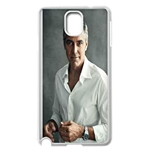 Samsung Galaxy Note 3 Cell Phone Case White George Clooney 2 JNR2247434