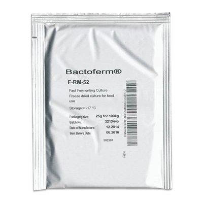 Bactoferm F-RM-52 (Lactobacillus sakei and Staphylococcus carnosus)