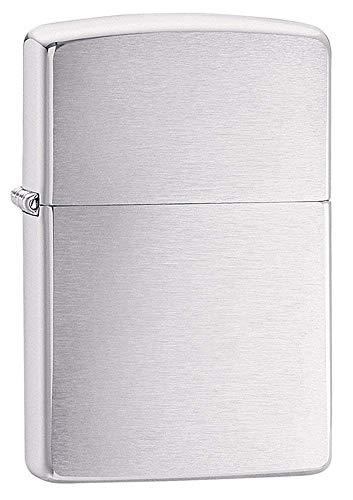 New Zippo Chrome Lighter Stylish Modern Design Popular Practical