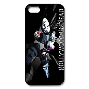 Gators Florida USA-6 Music Band Hollywood Undead Print Black Case With Hard Shell Cover for Apple iPhone 5s