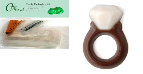 Cybrtrayd Mdk50-8100 Diamond Ring Mini Make 'N Mold Choco...