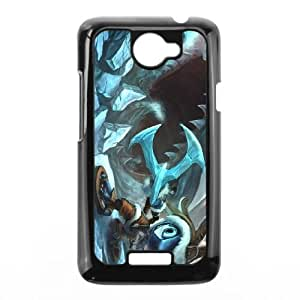 HTC One X Cell Phone Case Black League of Legends Tundra Fizz OIW0407168