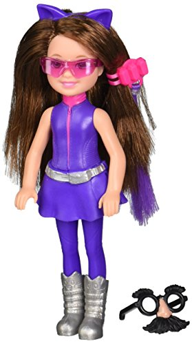 Barbie Spy Squad Junior Agent Doll, Purple
