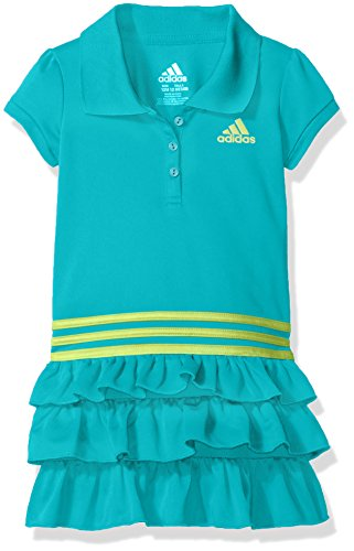 Turquoise Polo Dress - adidas Baby Girls' Active Polo Dress, Turquoise, 9 Months