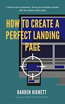 how to create ebook landing page