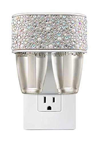 Bath and Body Works Pearly Gem Wallflower Plug Duo -- 2 in 1 Scent Switching Fragrance Diffuser and Nightlight -- Pearls Gems Sparkles Home Fragrance Wallflower Duo Plug-in by Bath & Body Works (Image #2)