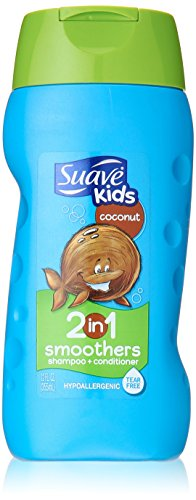 Suave Kids 2-in-1 Shampoo & Conditioner - Cowabunga Coconut - 12 (Hair Smoothers 2in 1 Shampoo)