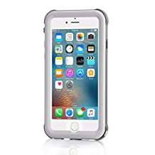 Meritcase Upgraded iPhone 6/6s Waterproof Case(4.7 Inch) 6.6ft Underwater Waterproof with Full Protection and Vehicle-Mounted Design (White)